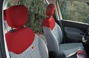 Fiat 500 L podczas obmiaru